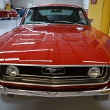 1968 Mustang GT grill Red