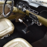 1968 Mustang S Code Nugget Gold interior