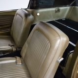1968 Mustang Fastback GT Nugget Gold front seats