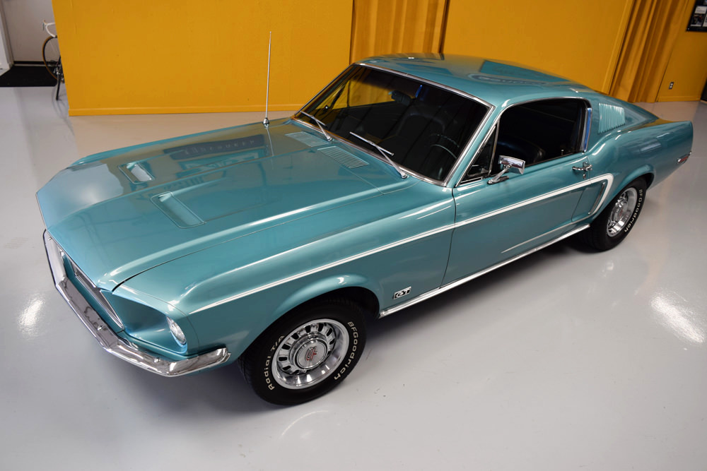 Tahoe For Sale >> 1968 Mustang GT Fastback Tahoe Turquoise - For Sale - MyRod.com