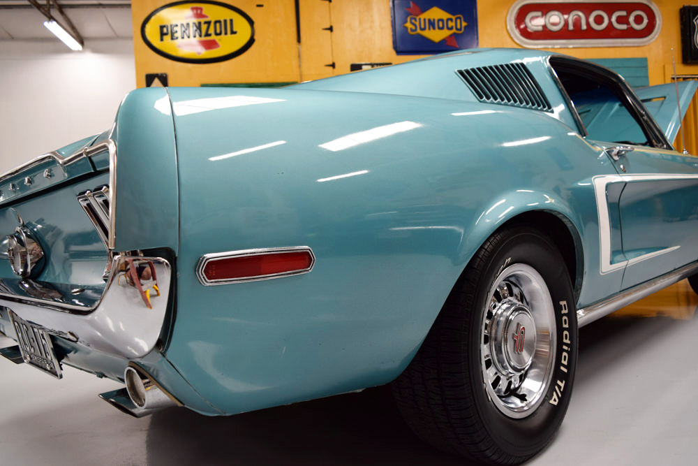 Fastback Mustang For Sale >> 1968 Mustang GT Fastback Tahoe Turquoise - For Sale - MyRod.com