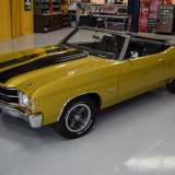 1971 Chevelle SS Placer Gold Convertible