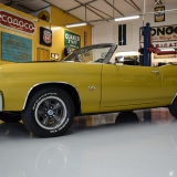 1971 Chevelle Super Sport 454 Convertible Placer Gold SS-13