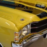 1971 Chevelle Super Sport 454 Convertible Placer Gold SS-15