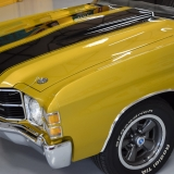 1971 Chevelle Super Sport 454 Convertible Placer Gold SS-16