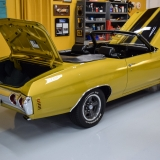 1971 Chevelle Super Sport 454 Convertible Placer Gold SS-4