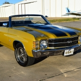 1971 Chevelle Super Sport 454 Convertible Placer Gold SS-49