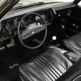 1971 Chevelle Super Sport 454 Convertible Placer Gold SS-5
