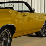 1971 Chevelle Super Sport 454 Convertible Placer Gold SS-50