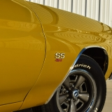 1971 Chevelle Super Sport 454 Convertible Placer Gold SS-51