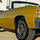 1971 Chevelle Super Sport 454 Convertible Placer Gold SS-52