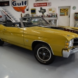 1971 Chevelle Super Sport 454 Convertible Placer Gold SS-55