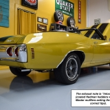 1971 Chevelle Super Sport 454 Convertible Placer Gold SS-56