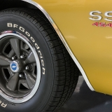 1971 Chevelle Super Sport 454 Convertible Placer Gold SS-59