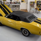 1971 Chevelle SS placer gold convertible top