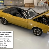 1971 Chevelle Super Sport 454 Convertible Placer Gold SS-62