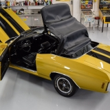 1971 Chevelle Super Sport 454 Convertible Placer Gold SS-63