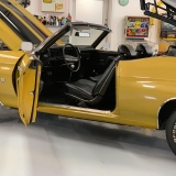 1971 Chevelle Super Sport 454 Convertible Placer Gold SS-64