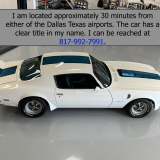 1971 Trans Am HO 455 4-speed deluxe interior for sale-64