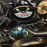 1972 442 Convertible 455 motor for sale