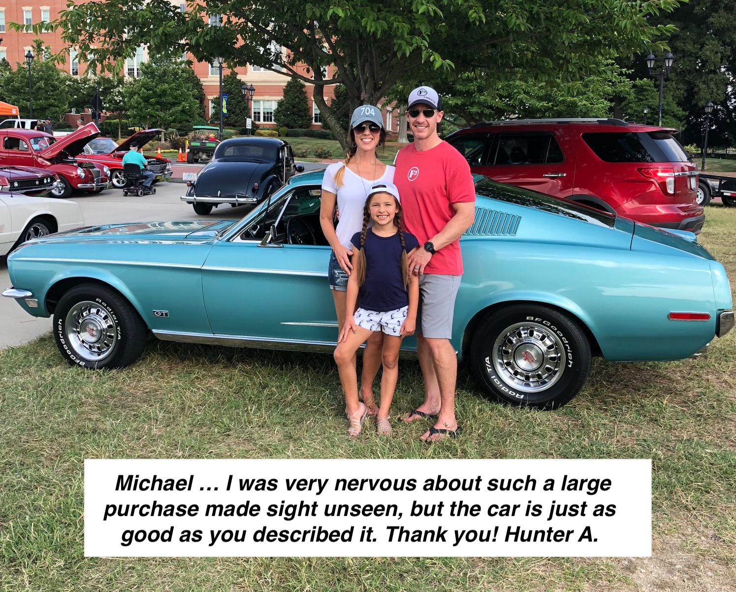 1968 Mustang Buyer feedback Brittany Blue