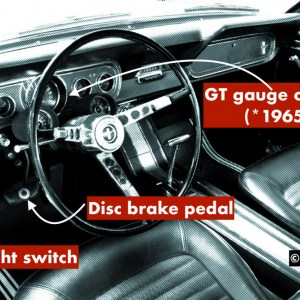 How to identify real GT Mustang interior