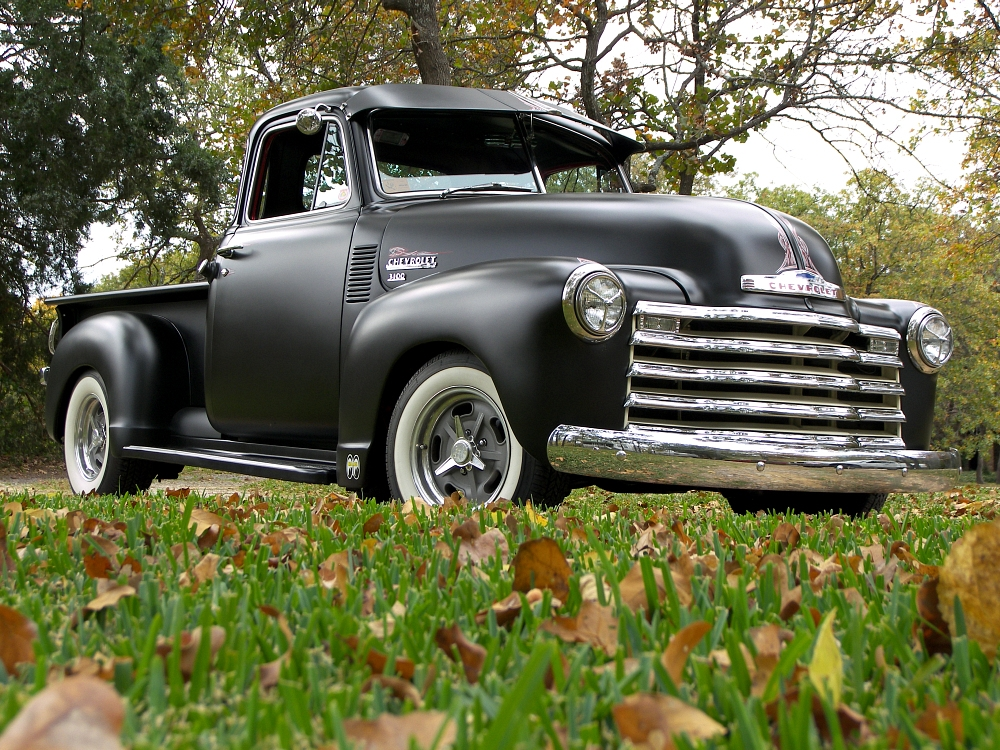 """My search for the perfect """"fat fender"""" hot rod truck. - MyRod.com"""