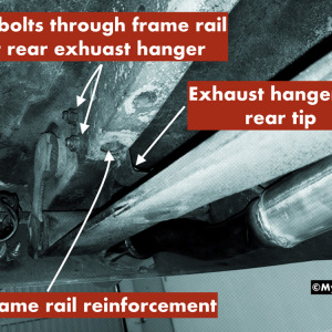 How to tell a real GT Mustang frame rail